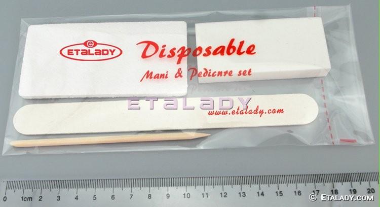 EL-DP58W-F6 nail & callus care professional disposable kit