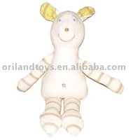 2015 fashion animals shape organic cotton toy