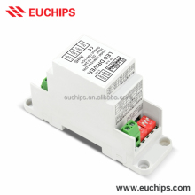 0-10V 1-10V Selectable Dimming Modes DIN Rail LED Dimmer 12V 180W 24V 360W Constant Voltage LED 0/1-10V Dimmer High Quality