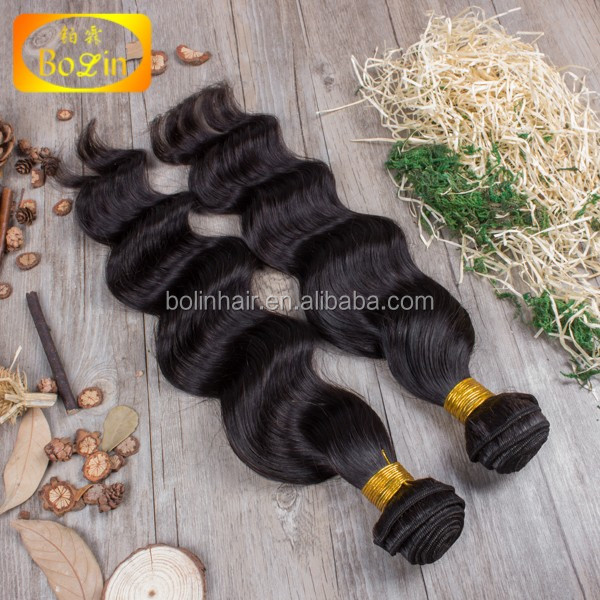 Factory Supply Cheap Double Weft 27 Piece Human Hair Weave