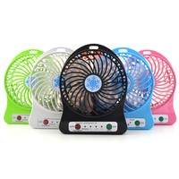 2017 Portable Rechargeable Mini USB Fans