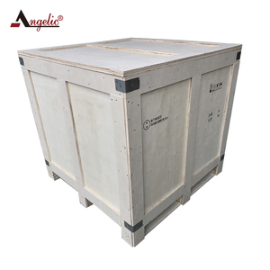 Hazardous Materials Wood Shipping Box With UN Certificate