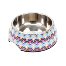 Wholesale Custom Stainless Steel Plastic Melamine Small Dog Bowl For Pets