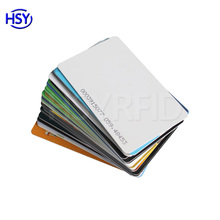 Wholesaler Price Printing Access Control Plastic Proximity PVC RFID Smart ID Card Maker