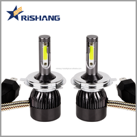 auto parts, High power H4 100w 10000lm p43t led headlight conversion kit, high low beam h4 h13 9007 9004 h15 car led headlight