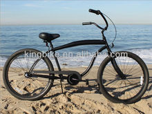 "26"" men black beach cruiser/beach cruiser bike/beach cruiser bicycle KB-BC-Z16"