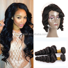 Wholesale Unprocessed Grade 7A 360 Lace Frontal Closure Cheap Real Virgin Indian Hair