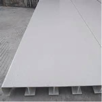 maintenance free light weight non-conductive fibre glass square tube