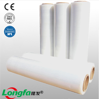 Transparent waterproof pe plastic film stretch roll