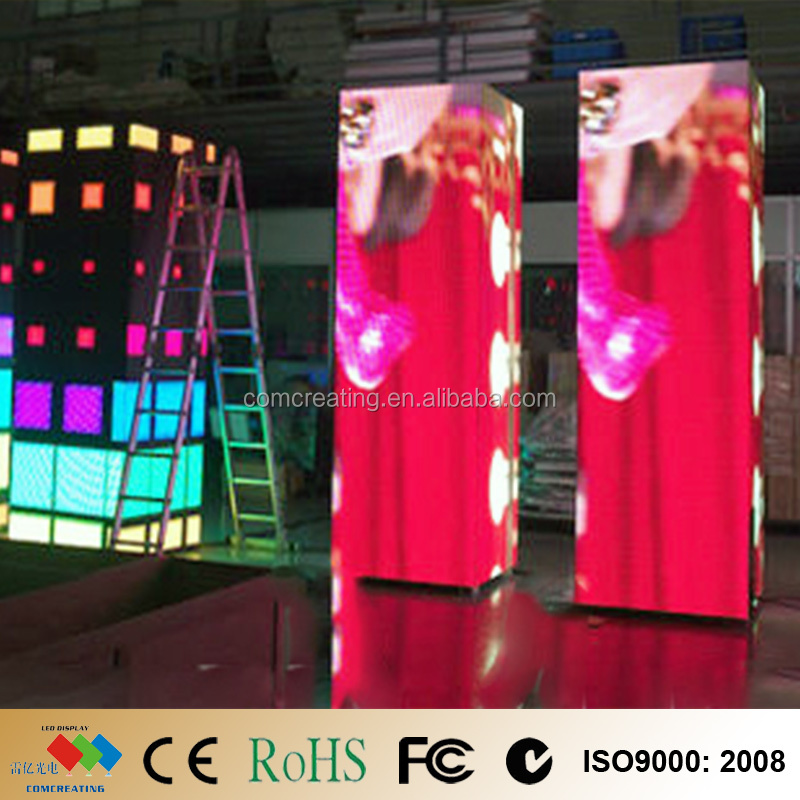 Hot Sale Customized Size P6 Indoor LED Screen DJ, LED Video Screen