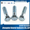 carbon steel zinc plating raw material square head bolt