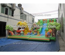 IC0081 air bouncer inflatable trampolin for sale