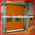 High performance fast moving electric roll up doors mainly use for factory