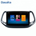 Dasaita android 8.0 9 inch car radio GPS Bluetooth auto dvd player with GPS navigation for jeep compass 2017