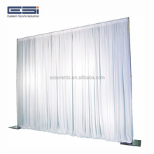 Wholesale Used Adjustable Stands Poles System Circle Events Pipe And Drape Wedding Backdrop For Sale