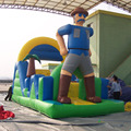 Customized order giant-man obstacle course equipment