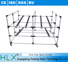 Pipe racks system,Easy-assembly flow pipe rack system