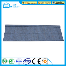 New design Japanese style building materials stone coated roof tile for sale