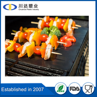 Wholesale New Premium Extra Thick 0.30mm PTFE Cooking Sheet BBQ Grill Mat Made In China