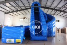New finished inflatable water slide clearance