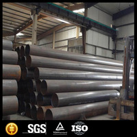 ASTM A53 ERW/LSAW Straight welded steel pipe/steel pipe for oil and gas