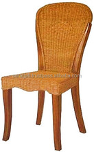 wooden antique combination Rattan Dining Chair