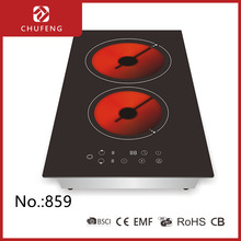 double Infrared cooker electric hot plate with touch control