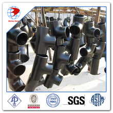 ASME A860 WPHY52 ANSI B16.9 BW Seamless Reducing Tee Pipe Fittings