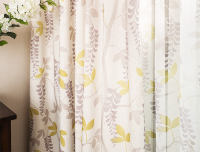 customized printed polyester curtain blackout decorative blackout modern curtains