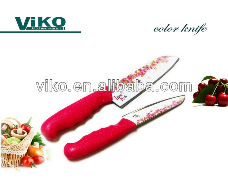 Meat cutting knife