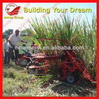 AMISY Hot sale in India low price small sugarcane harvester/sugarcane cutting machine