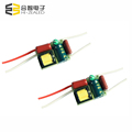 small size no isolated 220v flicker free 9w 12W 100ma 280ma led driver