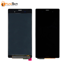 100% Tested Mobile Phone Repair Parts LCD Display for Sony Xperia Z3 D6633 L55t LCD Digitizer Touch Screen Assembly Replacement