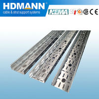 support system pre-galvanized flexible outdoor perforated cable tray factory price