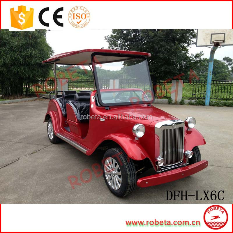 CE Certificated Electric Street Legal Utility Vehicle with 6 Seat