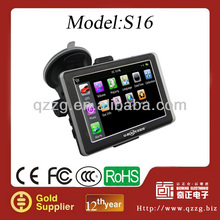 Promotional Car GPS Navigation for Christmas gift!! Cheap GPS with 256MB+8GB Flash+Bluetooth+AVIN+TMC
