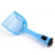 Factory sale small check cat plastic litter scoop with bag / Kitty Litter Scoop with Waste bags
