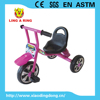 2015 hot sale children tricycle with siliver wheels and bottle