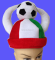 Custom plush football fans hats with Random free sample