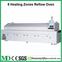 8 Heating Zones Reflow Oven