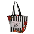 Wholesale fashion grocery shopping reusable non woven tote bags