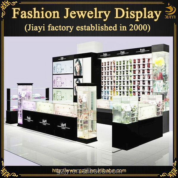 High-end wood jewelry display stand for necklaces