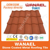 Roman Wanael stone coated roof sheets price per sheet/economic home roof/best selling products in africa
