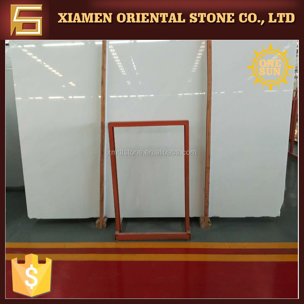 Hot sale pure nano white marble <strong>stone</strong> with good price