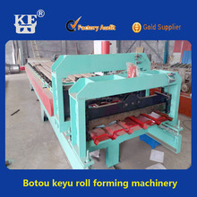 5 wave Russia hot sale roof glazed tile roll forming machine