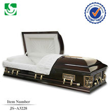 American casket with best pecan solid