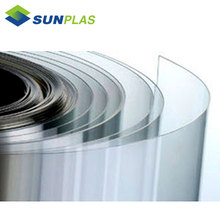 clear transparent pvc roll 3mm plastic sheet