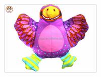 The purple birds dog toy pet products stuffed plush dog toy