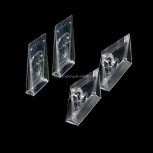 Transparent PVC plastic clamshell blister packaging folded boxes