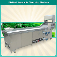 PT-2000 CE Approved, Stainless Steel, Customized Leafy Vegetable Blanching Machine